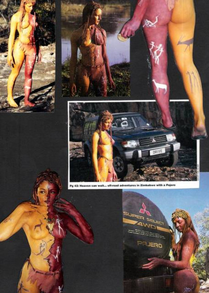 Bushman – Body Painting