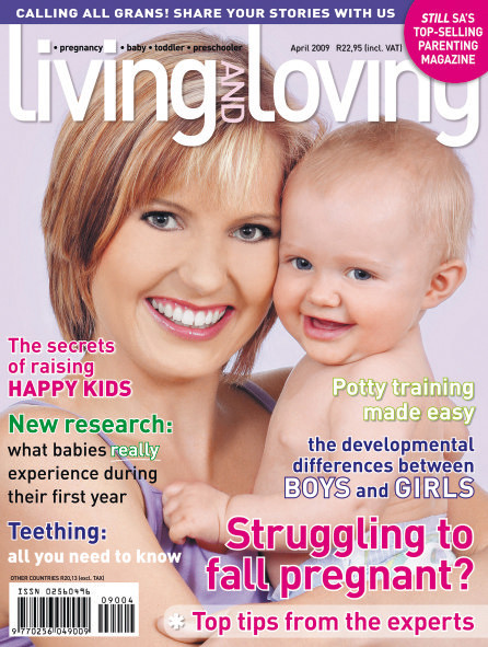 April '09 Living & Loving Cover