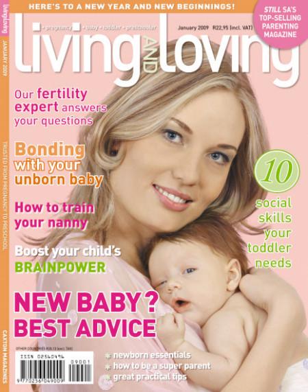 January '08 Living & Loving Cover