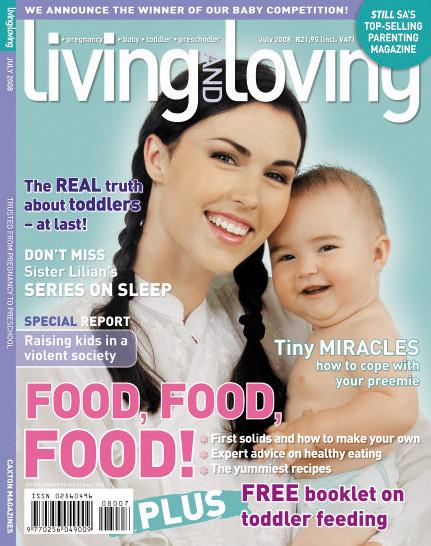 July '08 Living & Loving Cover