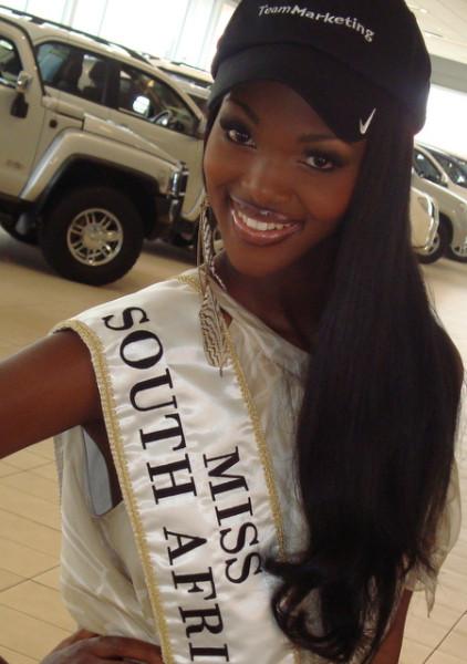 Bokang Montjane – Miss SA 2010
