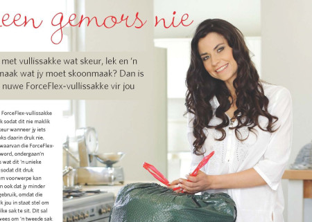 Glad Bags Advertorial – Rooi Rose