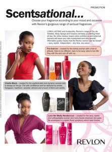 Revlon Advertorial - Bona Magazine