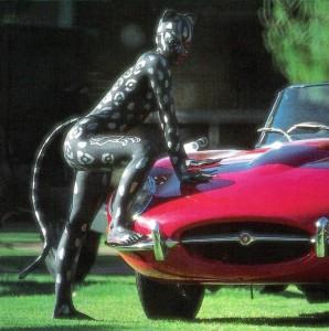 Jaguar - the cat & the car