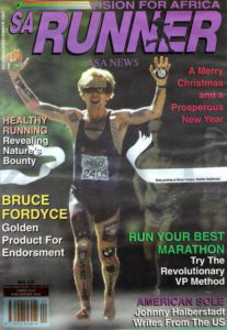 SA Runner Magazine Cover