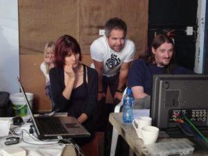 Kate Corbin, Kobus Swart & Tim Collins