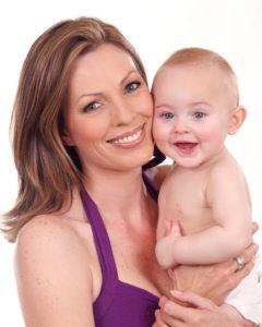 Mary Slater & Baby