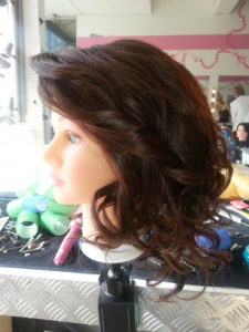 Curly down style