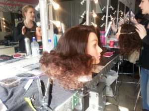 Step 2 - fashion do - big teaze mixed with smooth sculpting